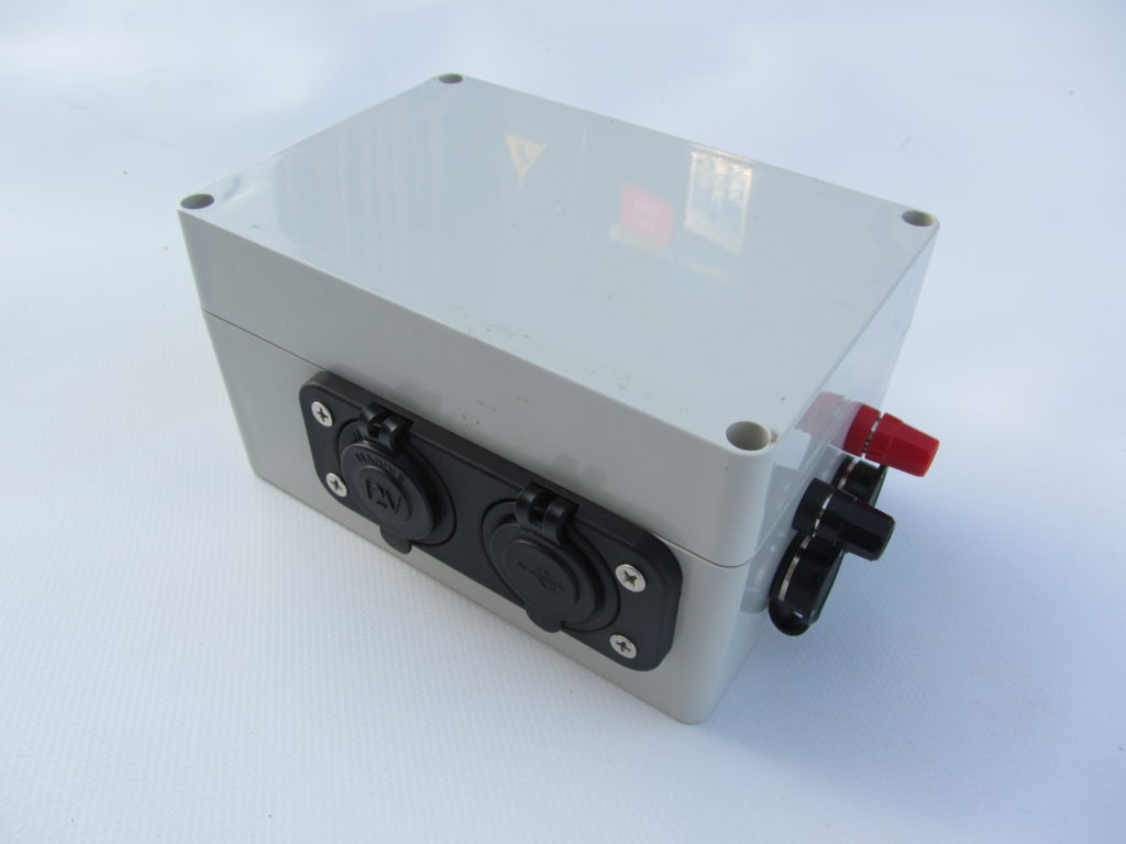 Watertight electrical box